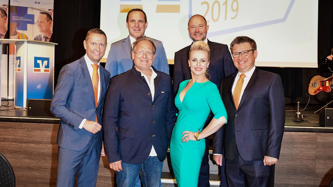 von links: Christoph Kothe, Jens Hasselbächer, Prof. Dr. Dietrich Grönemeyer, Diana Schell, Thomas Auerswald und Andreas Woda