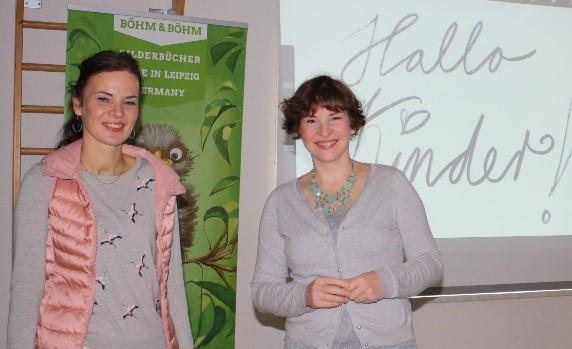 Andrea Böhm (die Autorin) und Lee D. Böhm (die Malerin und Illustratorin)