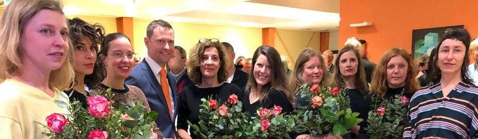 SIRENEN – Leipziger Künstlerinnen stellen in der Volksbank aus