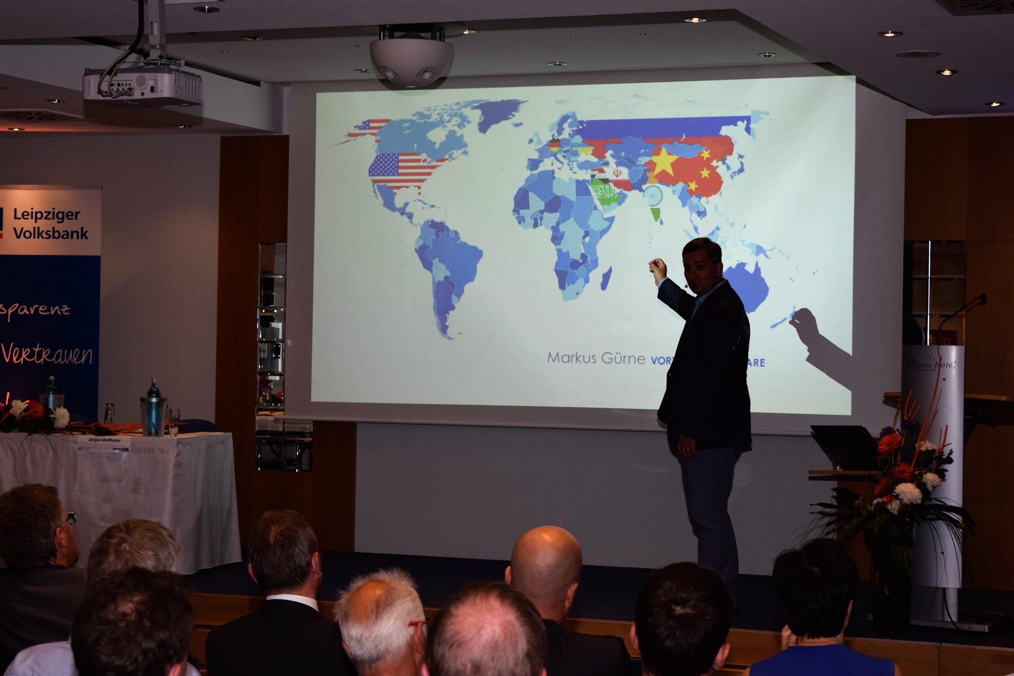 Vortrag des Leiters der ARD – Börsenredaktion, Markus Gürne