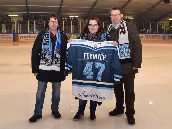 Leipziger Volksbank bei den IceFighters