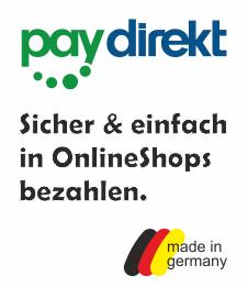 Mit paydirekt sicher und einfach bezahlen in OnlineShops.