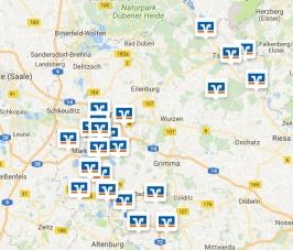 Filiale auf der Karte suchen & Route planen