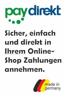 Mit paydirekt sicher und einfach Zahlungen in OnlineShops annehmen.
